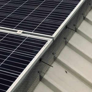 bird proofing solar panels